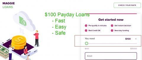 $100 Loan