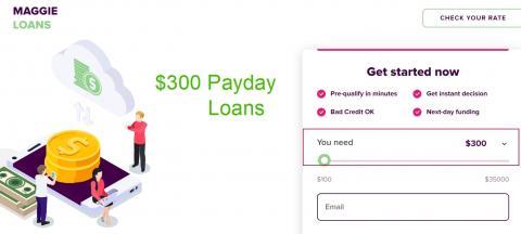 300 Dollar Loan