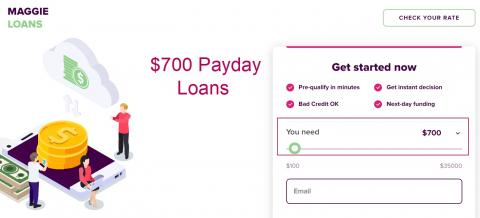 700 dollar loans